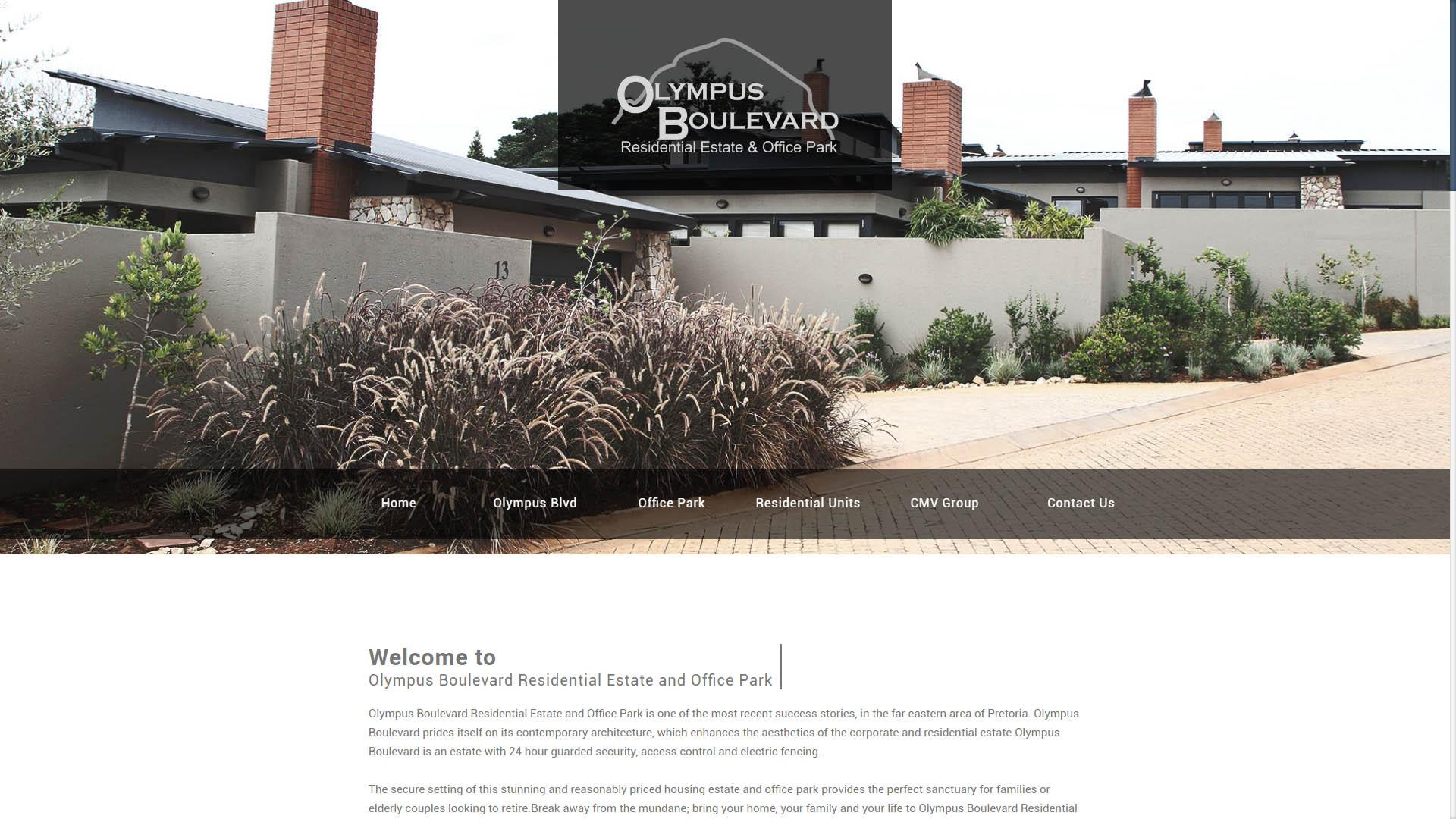 Olympus Boulevard Website