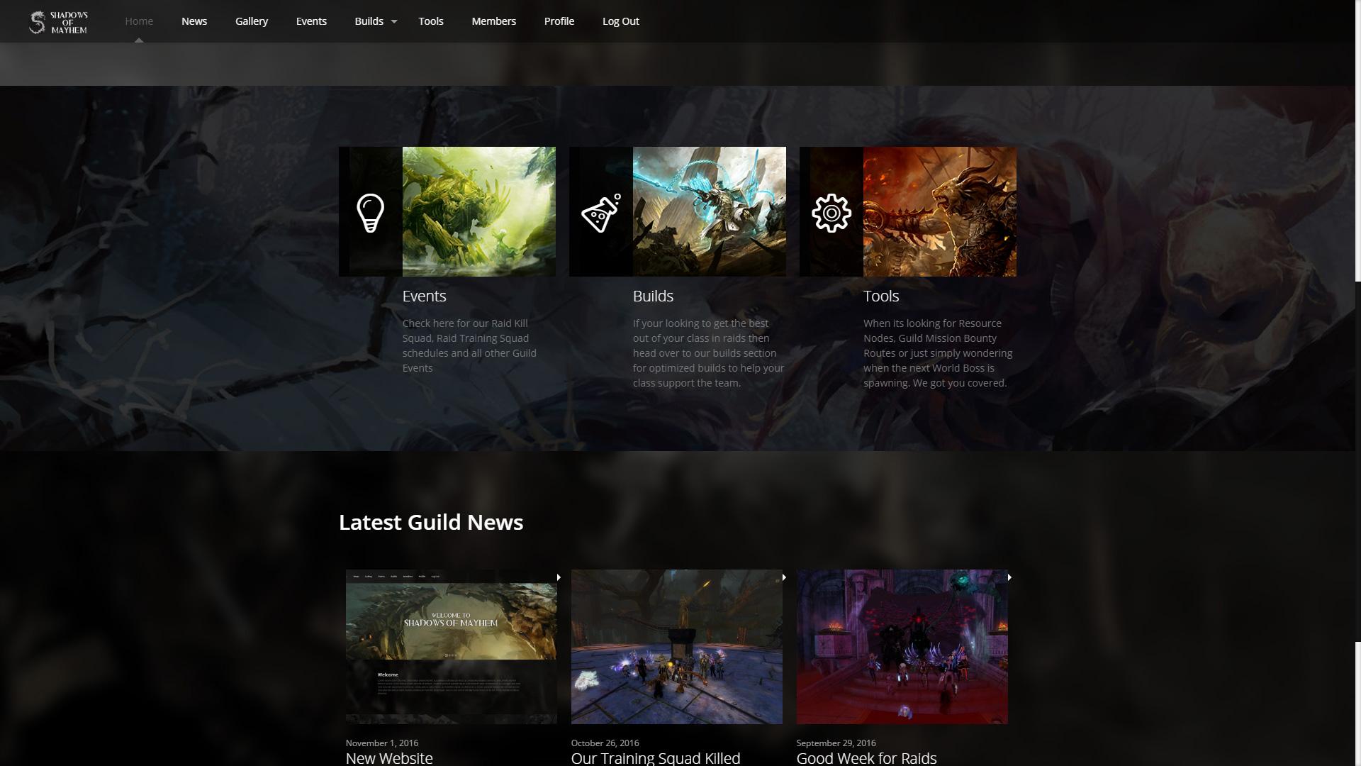 Website View
